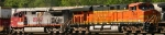 BNSF 7662 & BNSF 727